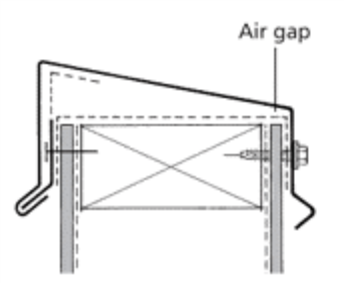 Vertical Fixed Capping with Continuous Cleat