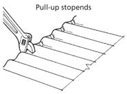Corrugate Stopends