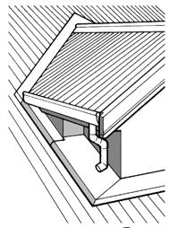 Dormer Discharge On Roof