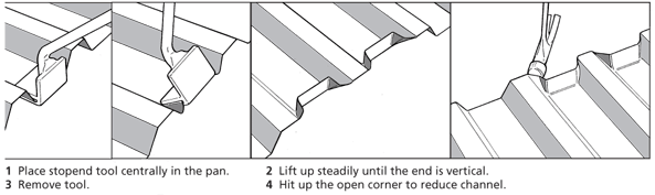 Pull-up Stopends