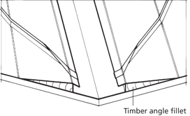 Timber Angle Fillet
