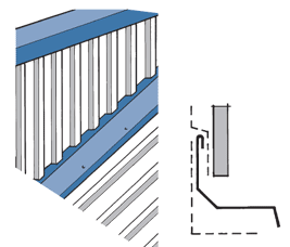 Vertical Cladding Flashing