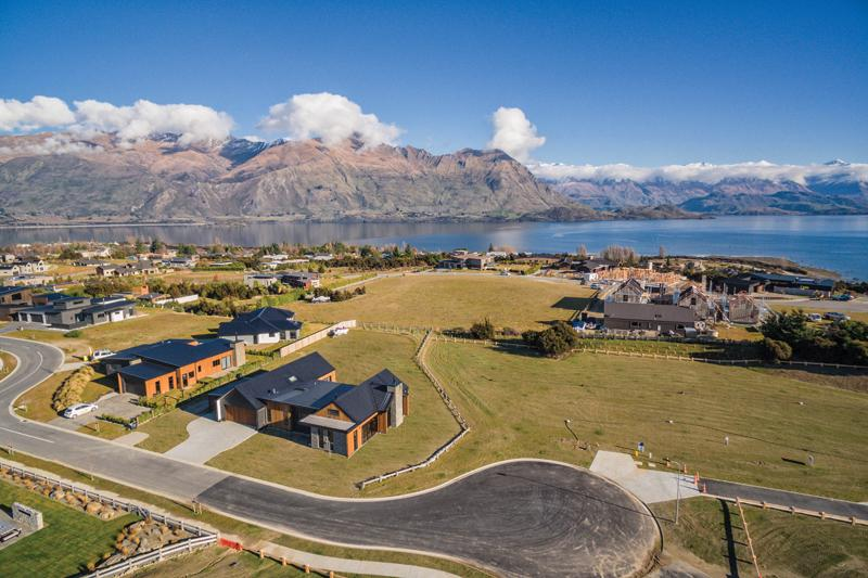 Timeless Double Gable Home In Wanaka Nz Metal Roofing