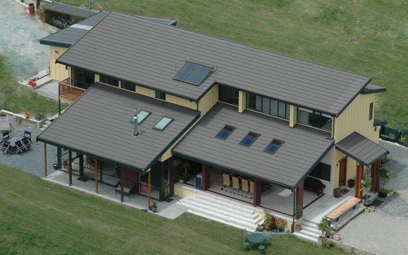 Knapdale Eco Lodge Nz Metal Roofing Manufacturers