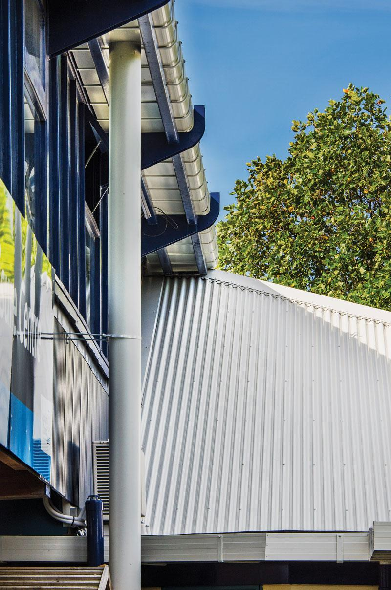 East Coast Bays Leisure Centre Nz Metal Roofing