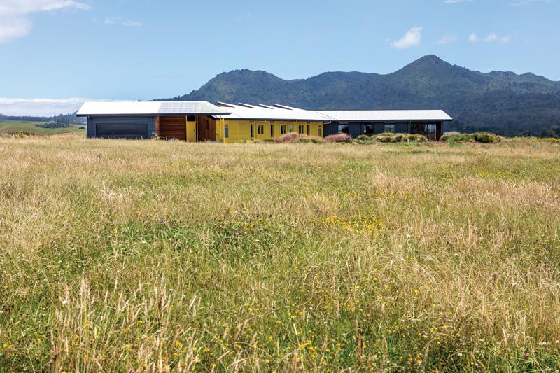 Set In A Rural Paradise Kowhai House Maximises Its Unique